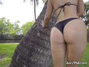 Sex Kitten Eva Lovia Shows Off Her Amazing Booty