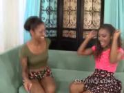 Black girls spread for other dark girls