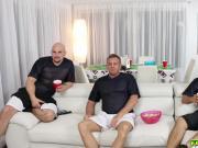 Jmac fucks Gigi Flames behind his dad watching superbowl