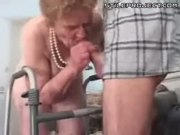 Dentures Granny Cock Sucker Fucker