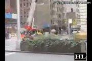 Wrecking Ball Knocks Over Car