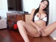 Naughty girlfriend with big boobs tries out anal action