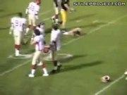 Football Streaker Gets Nailed Hard On The Field