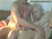 Old Granny Gets Her Clit Rubbed Good