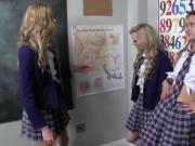 Amateur lesbian teens in school