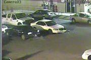 SUV Damages Car & Drives Away