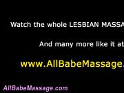 Hot lesbian gets cunt rub