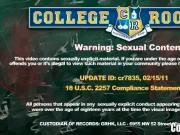 Amateur Rate the Cock Contest in College Dorm