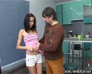 Timid Girl Fucked By Older Man