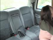 Big tits Yasmin Scott shows her tits and gets fucked by taxi driver