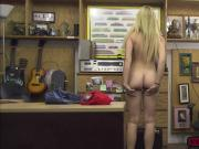 Busty babe Skyla Novea gets fuck inside the pawnshop