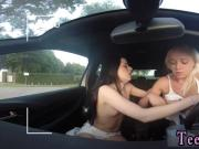 Spanish teacher lesbian threesome strap on Going for a ride