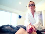 Mom Brandi Love Hands On Learning handjob