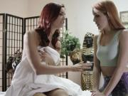 Cute Jayden Cole licked by her naughty Gf
