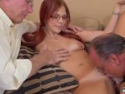 Hairy old granny anal first time Frankie And The Gang Take a Trip