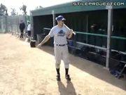 Bat Spinning Trick