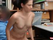 Bobbi Dylan suck and fuck to avoid shoplifting charge