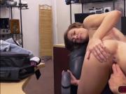 Big tits Harlow Harrison fucks a pawndude on the desk