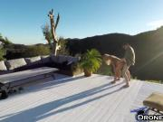 Blonde Olivia Austin Outdoor Ramming And Filmed By Drone