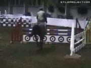 Equestrian riding FAIL
