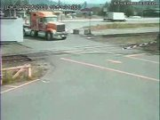 Train Vs. Semi Truck