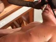 Vivian Having Stocking Sex