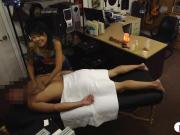Oriental cutie pawns her twat and fucked by stranger dude