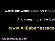 Lusty lesbian massage