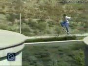 Jeremy Wray Epic Skateboard Jump