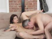 Wild Sexy Chick Gina Fucks Fake Talent Agent