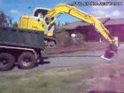 excavator operator has mad skills