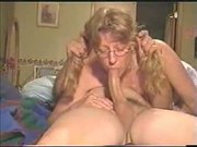 Wife Swallows Big Weiner For Web Cam