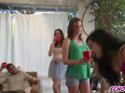 College Girls Wet T Shirt Shindig