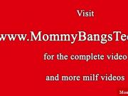 Milf mom and teen in ffm frenzy