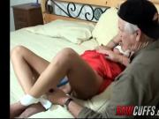 Yvette Leigh toyed to orgasm by an old pervert