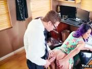 Nympho wife Yuriza Beltran is creazy for cums
