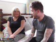 AgedLovE Alisha Mature Blonde Chubby Fucked Hard