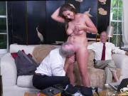 Amateur brutal dp and pierced amateur with a pair of huge Then he