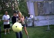 epic pinata fail!