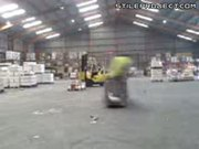 Forklift Show Off Fail
