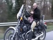 Motorcycle Side Car Blowjob