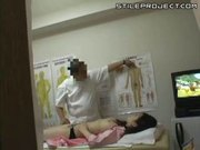 Japanese woman fucked in the doctors office