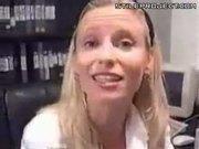 Blonde Fucks Her Dream Sex Toy - Biggest Dildo Ever