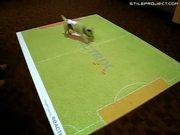 Dog Plays Virtual Soccer