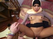 Desert Rose Arab whore gets paid and laid in POV
