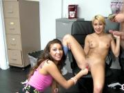 Marina Angel Threesome Fucking Sucking Big Dong