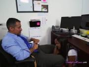 Schoolgirl Victoria Valencia Blows Fathers Employee