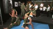 Bisexual Army Orgy - You WILL suck that cock, soldier!