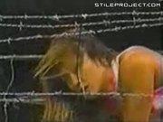 Female Wrestler Gets Dropped On Her Neck!!!
