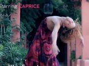 Exotic teenie tease and dancing